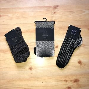 INC Socks and Tights Bundle